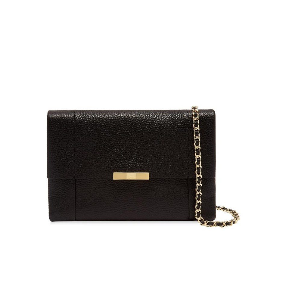 Ted Baker Bow Detail Crossbody Bag - 00 black