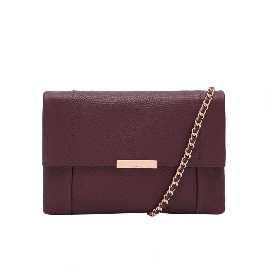 Ted Baker Bow Detail Crossbody Bag - 60 deep purple