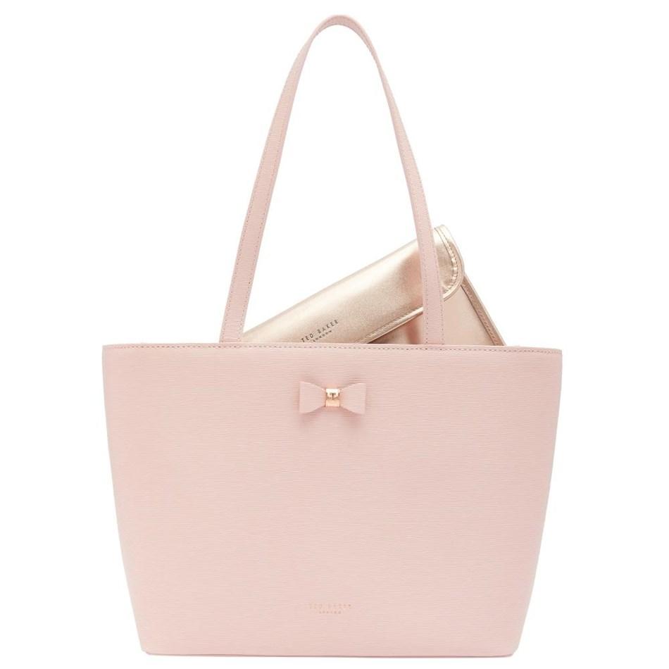 Ted Baker Bow Detail Small Shopper - 58 light pink