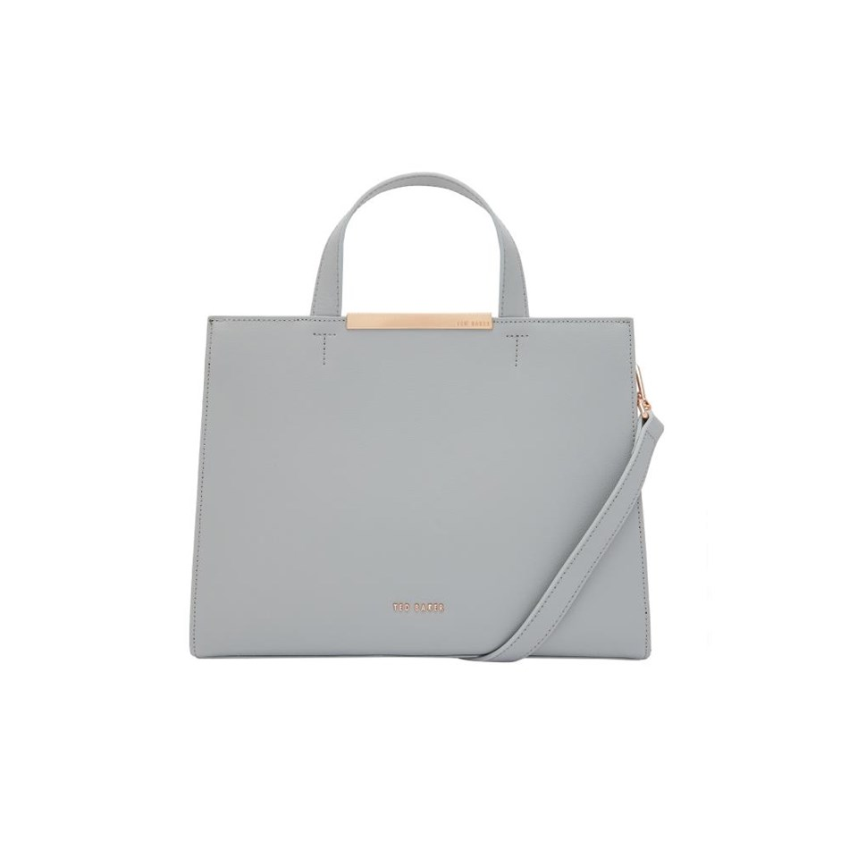 Ted Baker Core Leather Tote - 05 grey