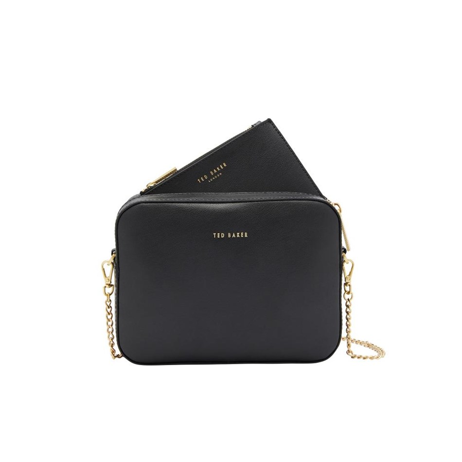 Ted Baker Core Leather Camera Cross Body -