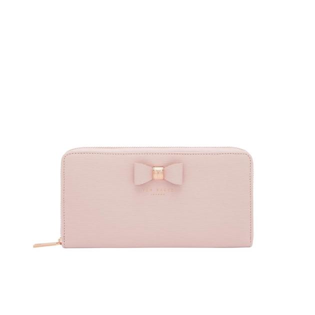 Ted Baker Textured Zip Around Matinee - 58 light pink