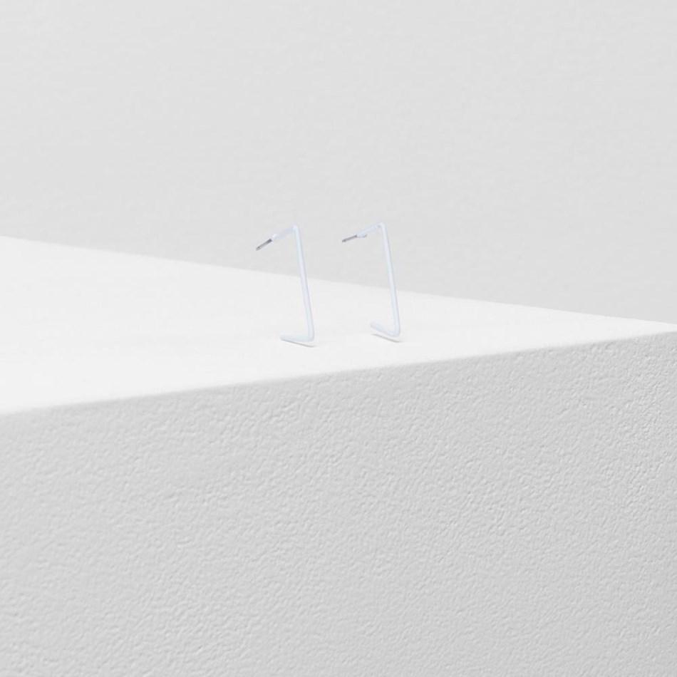 Elk Silda Earring - white