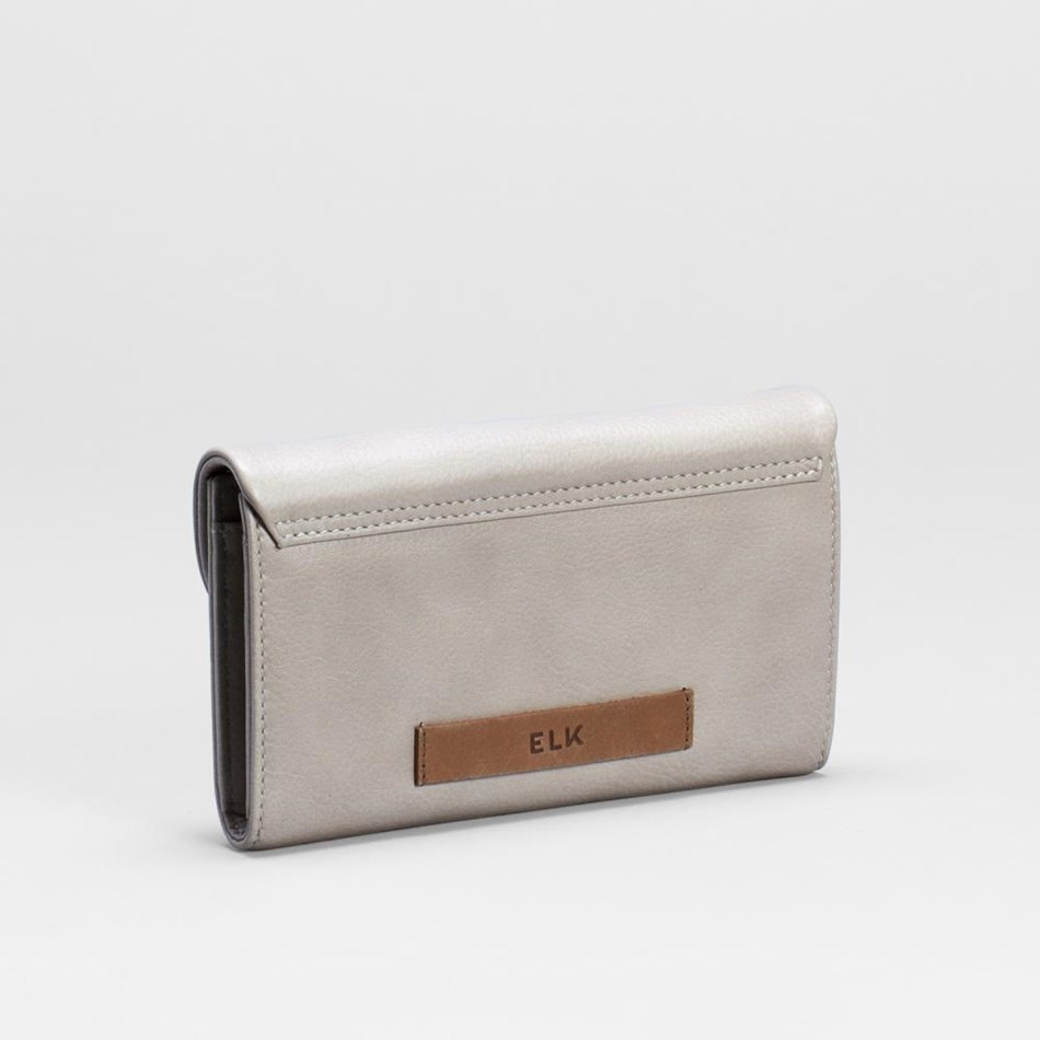 Elk Familie Wallet - gravel-tan