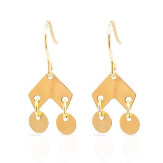 Petite Grand Oriental Earrings