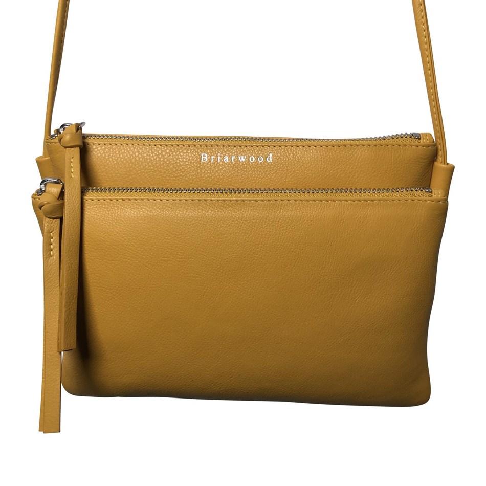 Briarwood Caughey Shoulder Bag - mustard