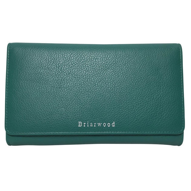 Briarwood Frenchie Wallet - emerald
