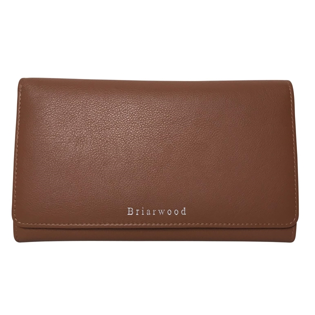 Briarwood Frenchie Wallet - tan