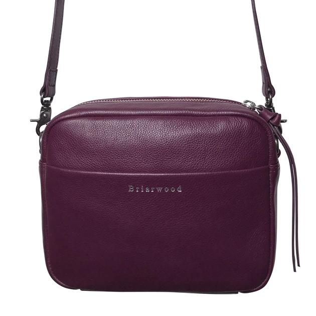 Briarwood Trent Shoulder Bag - grape