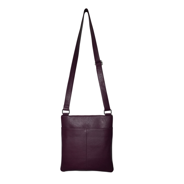 Briarwood Utility Shoulder Bag - grape