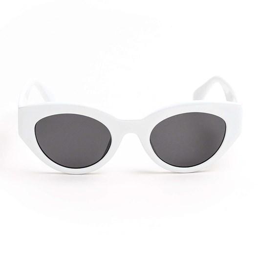 Stella & Gemma Ariana White Sunglasses
