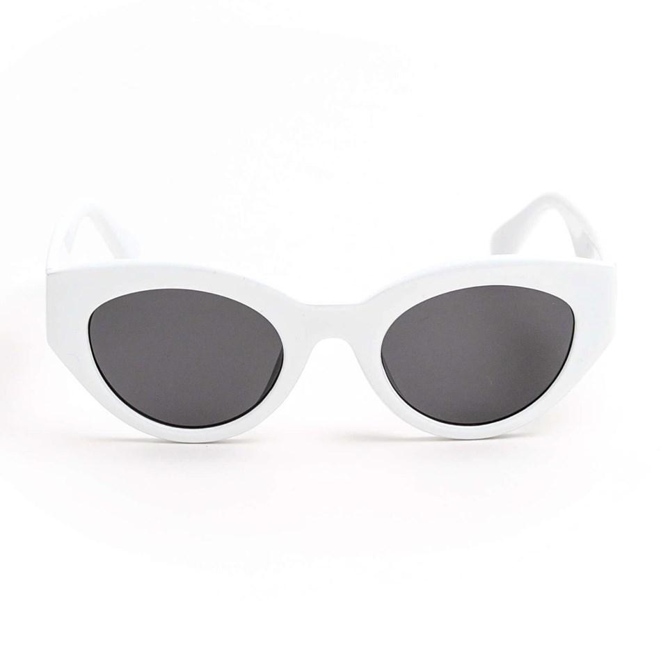 Stella & Gemma Ariana White Sunglasses -