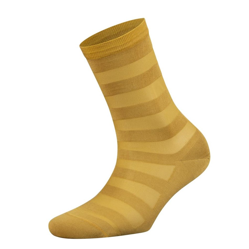 Falke Sheer Stripe Anklet - 168 inca gold