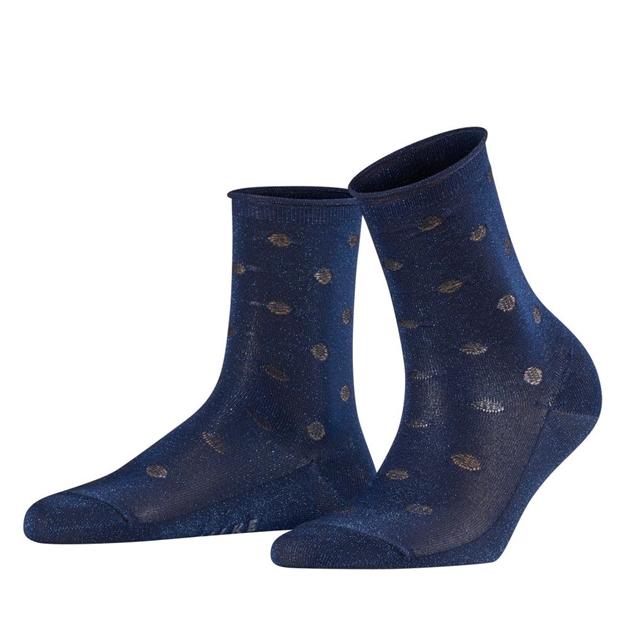 Falke Shell Dot Anklet - 6000 royal blue