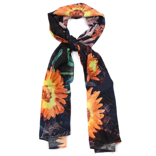Front Row Society Night Time Wool Scarf