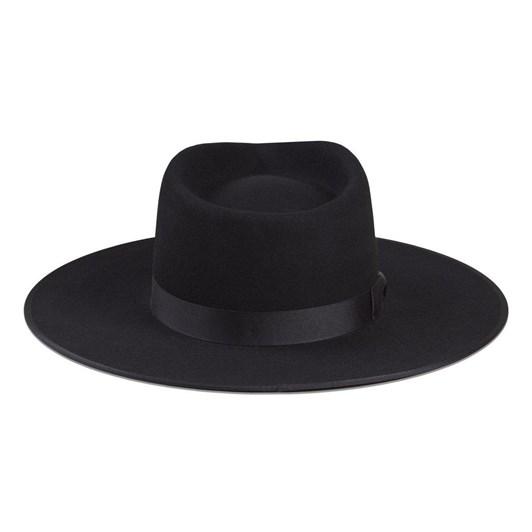 Lack Of Color Noir Rancher Hat