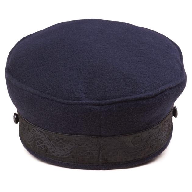 Lack Of Color Riviera Cap - navy-black