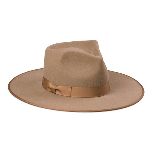 Lack Of Color Teak Rancher Hat
