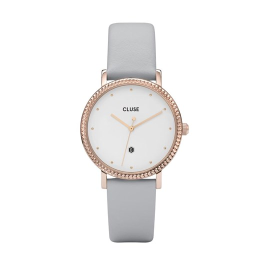 Cluse Le Couronnement Rose Gold White/Grey Watch