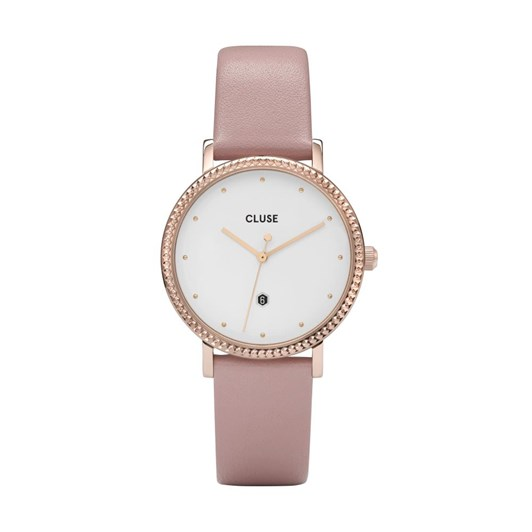 Cluse Le Couronnement Rose Gold White/Pink Watch