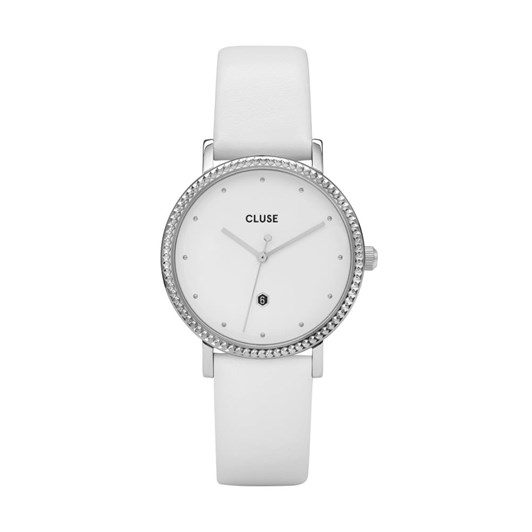 Cluse Le Couronnement Silver White/White Watch