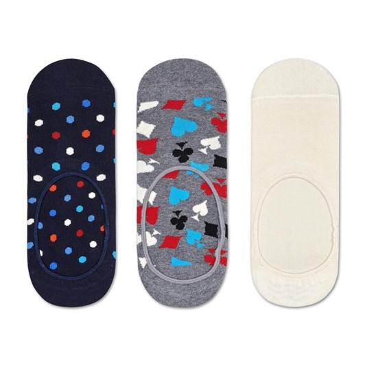 Happy Socks 3-Pack Dot Liner Sock