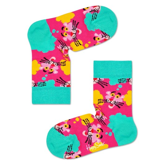 Happy Socks Pink Panther Think Pink Sock