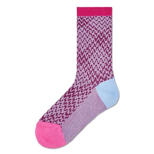 Hysteria Rosa Crew Sock