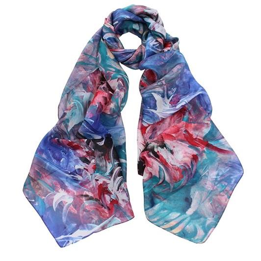 Dlux Botanic Silk Printed Scarf