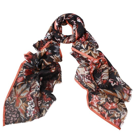 Dlux Nova Multi Colour Wool/Silk Scarf