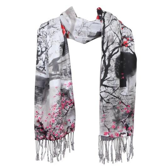 Gift Zone Silk & Cashmere Wrap