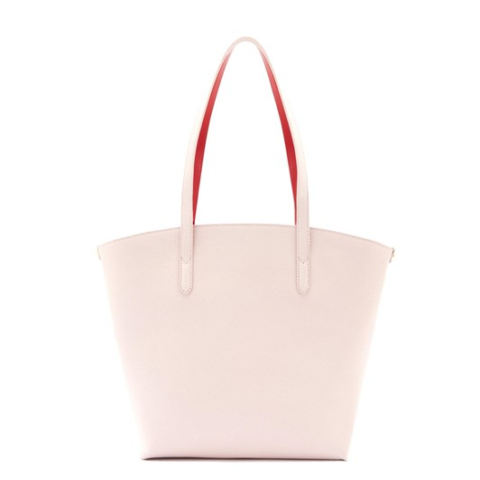 Lulu Guinness Blush Leather Agnes Tote