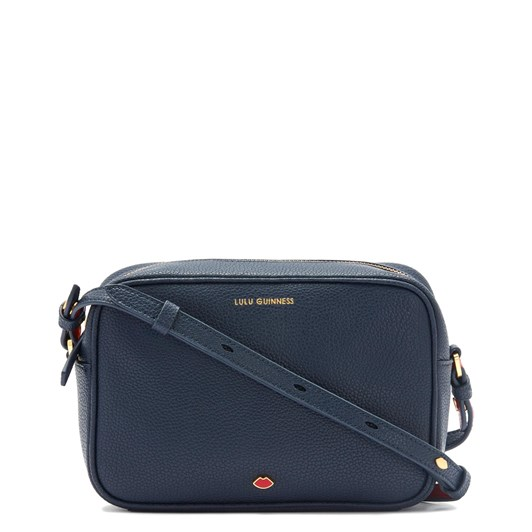 Lulu Guinness Navy Leather Patsy Cross Body Bag
