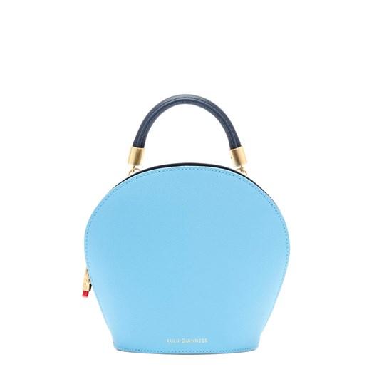 Lulu Guinness Sky Blue Leather Willow Handbag