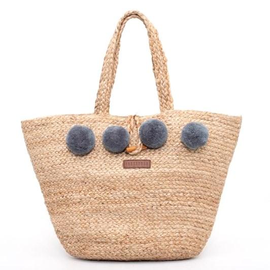 Brakeburn Jute Beach Bag