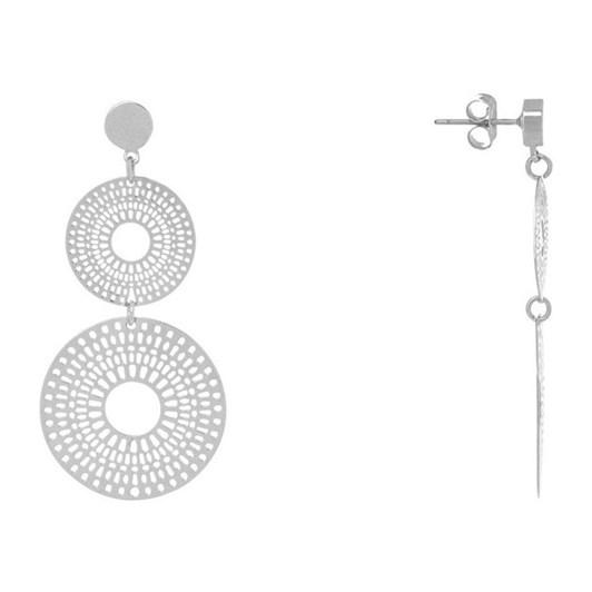 Gregory Ladner Double Mandala Cut-Out Earrings