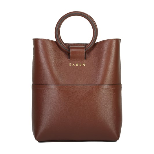 Saben Tabbie Leather Handbag