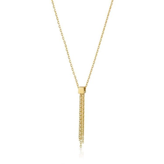 Ania Haie #9 Fringe Tassel Drop Necklace