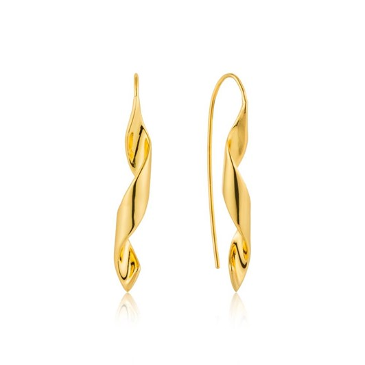 Ania Haie #8A Twister Helix Hook Earrings