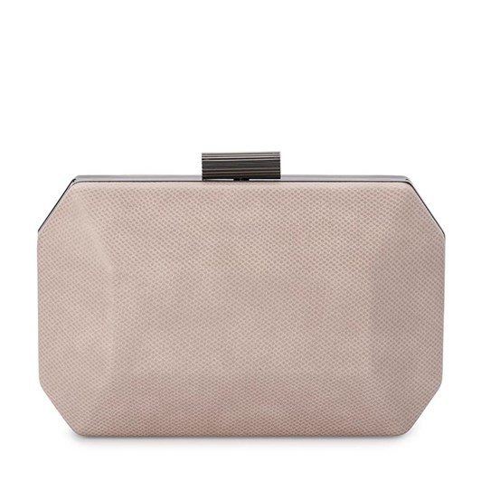 Olga Berg Molly Facetted Clutch