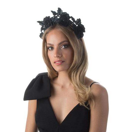 Olga Berg Ariel Lace Halo Headband