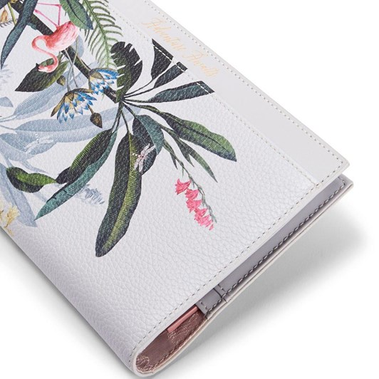 Ted Baker EVEA Pistachio Travel Wallet