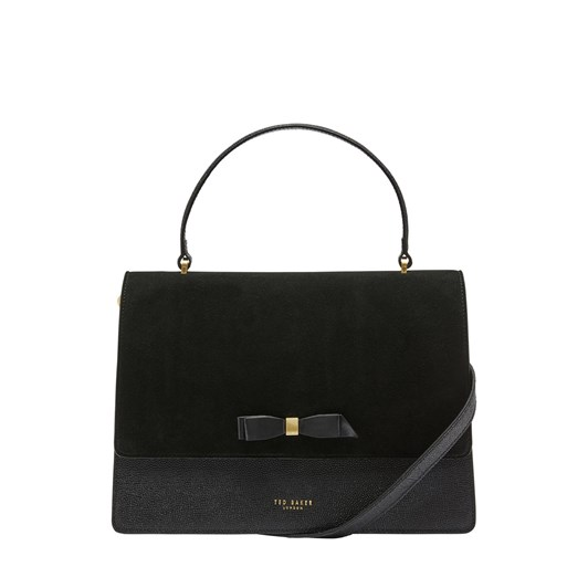 Ted Baker Olla Bow Detail Suede Lady Bag