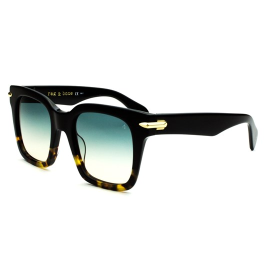 Rag & Bone 1014/S Sunglasses Black Havana