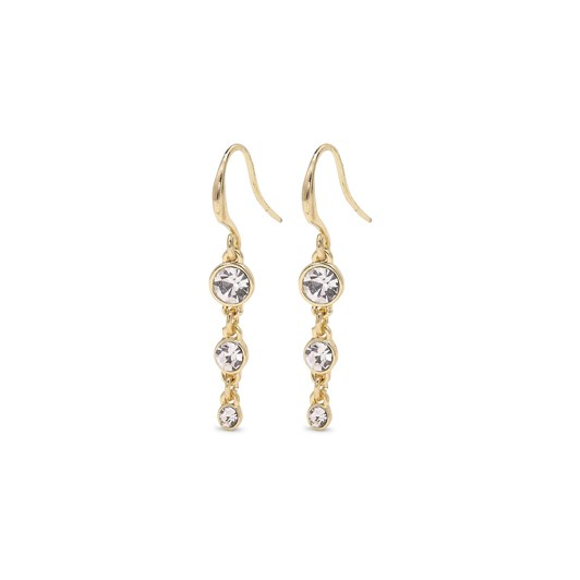 Pilgrim Lucia Gold Plated Crystal Earrings