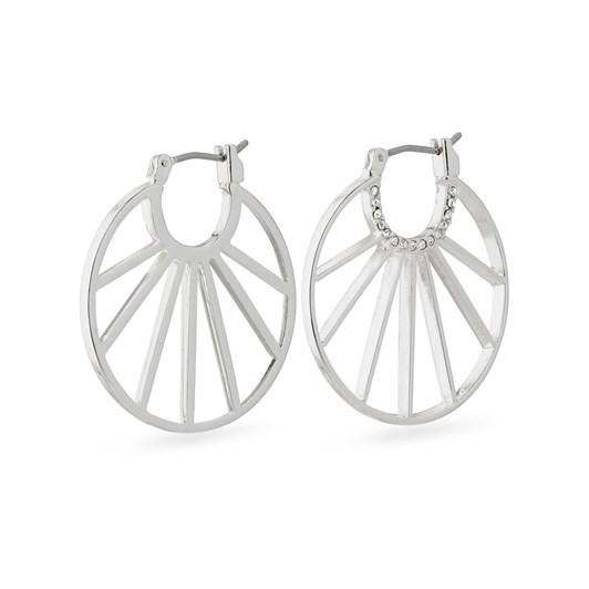 Pilgrim Cassie Silver Plated Crystal Earrings