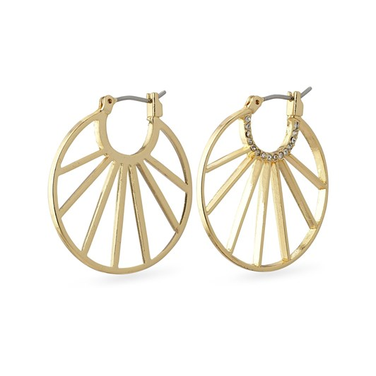 Pilgrim Cassie Gold Plated Crystal Earrings