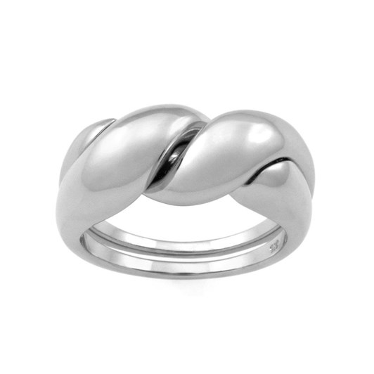 Monarc Jewellery The Puzzle Ring. Sterling Silver