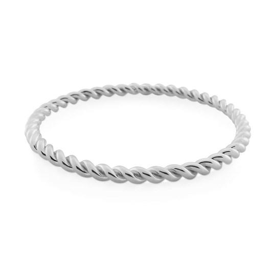 Monarc Jewellery Corda Bangle Silver