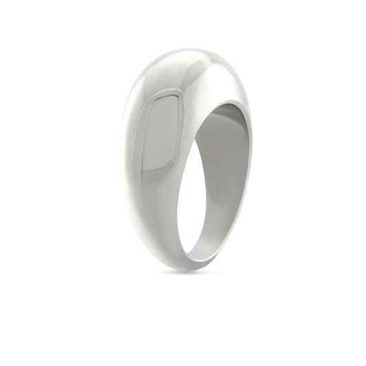 Monarc Jewellery Courbure Ring Silver